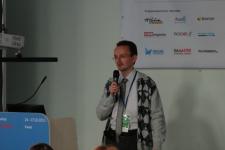 А.Садовский на UaConf 2012 (Фото SearchEngines.ru)